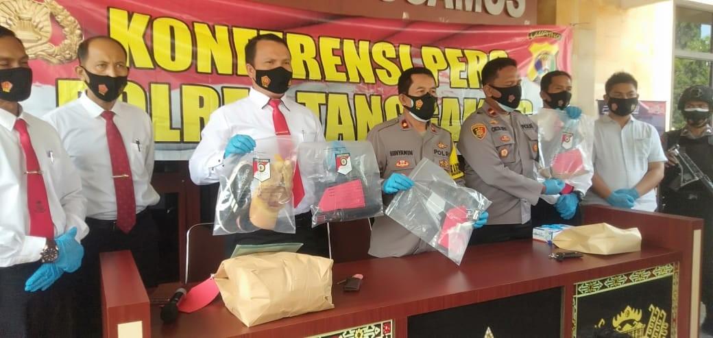 Tempo 6 Jam, Polres Tanggamus Berhasil Tangkap Pelaku Pembunuhan di Jalinbar Pugung