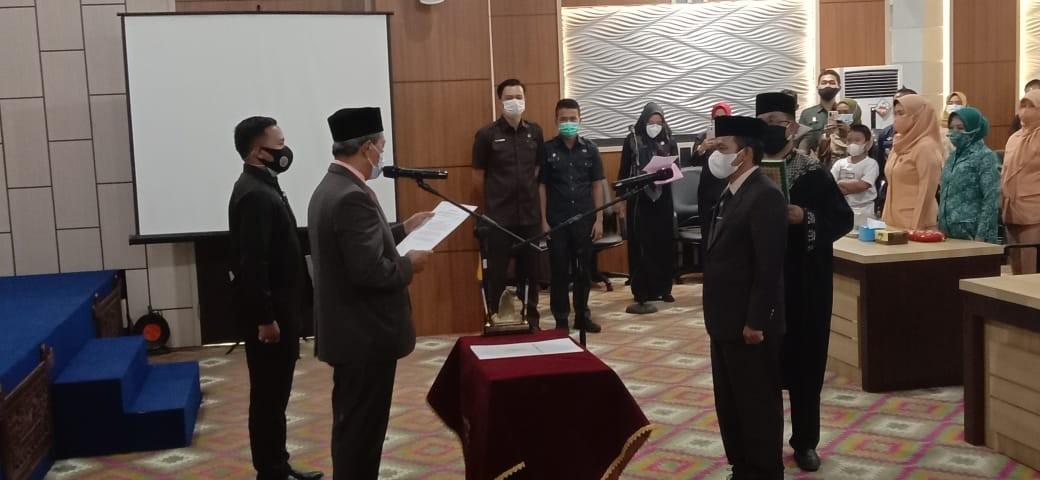Bupati Lampung Tengah Lantik Nirlan Sebagai Sekda Definitif