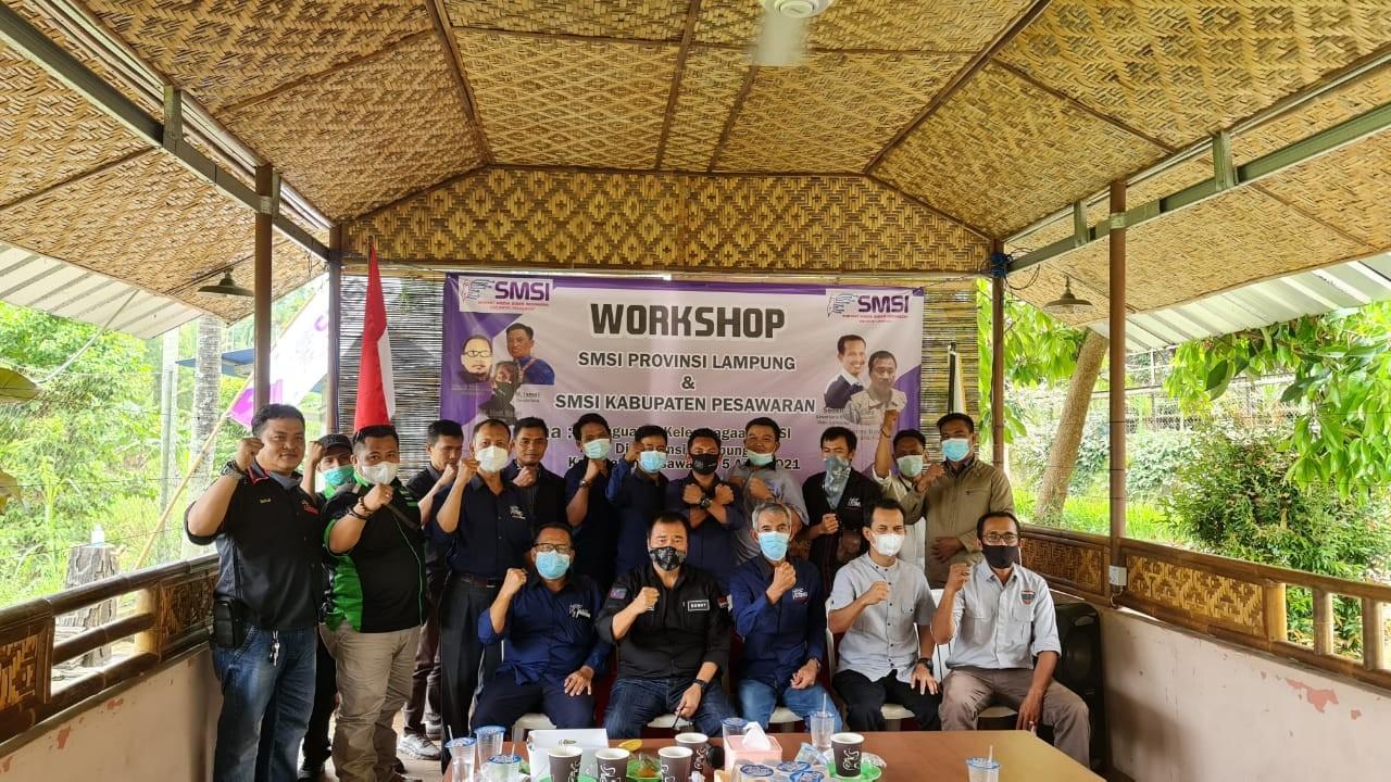 Dony Irawan:  SMSI Wajib Kawal Pembangunan Pesawaran