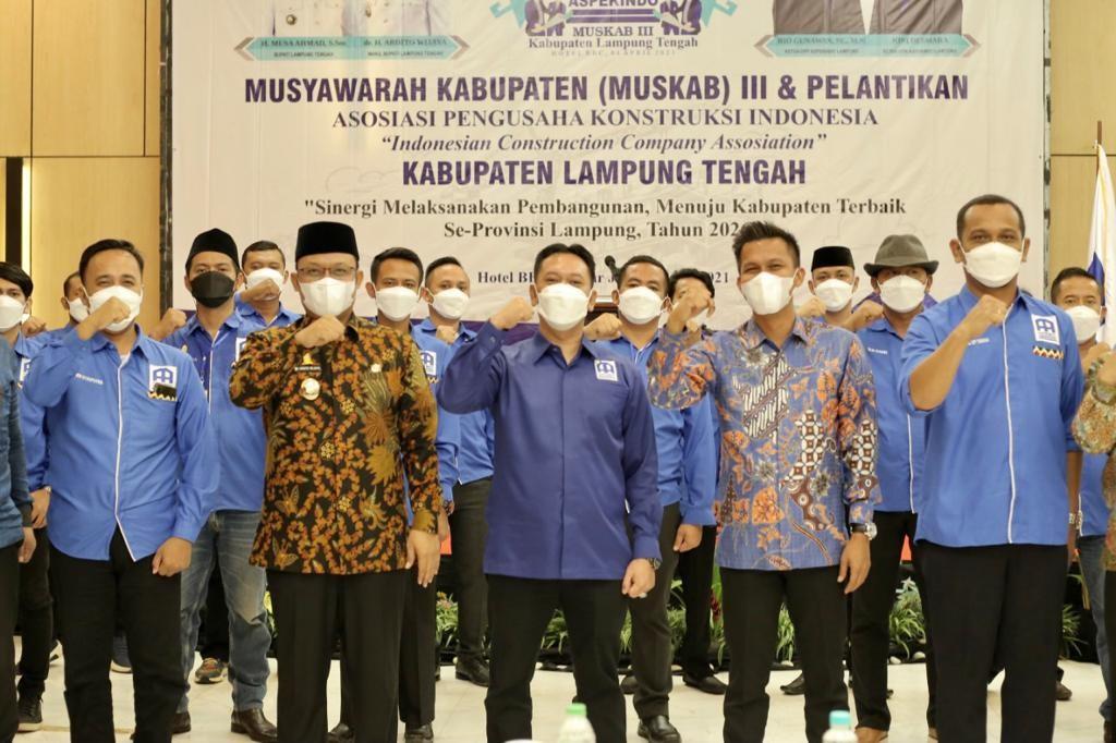 Joni Dasmara Resmi Nahkodai Aspekindo Lamteng
