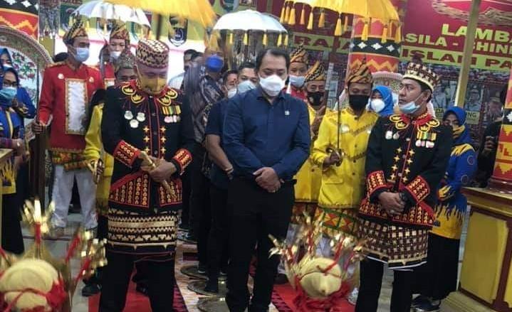 Ketua DPW Nasdem Taufik Basari Lampung Kunjungi Lamban Gedung Kuning