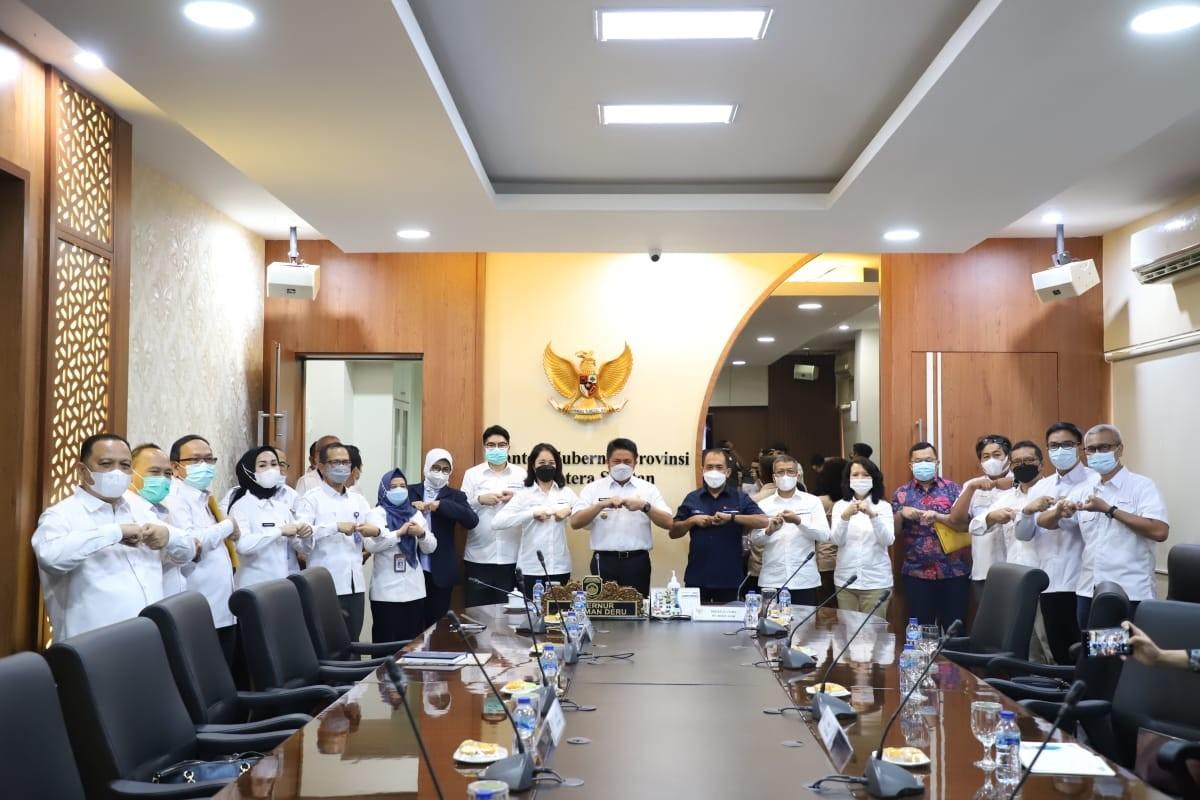 Herman Deru Apresiasi Perhatian  PT. Bukit Asam Tbk
