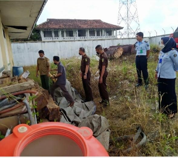 Rupbasan Kelas I Balam Terima Kunjungan Kejari Pringsewu Serta KLH Provinsi Lampung