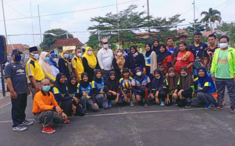Berikan Suport Pada Atlet Wanita, Mardiana Musa Ahmad Kunjungi Kampung Bandar Sakti
