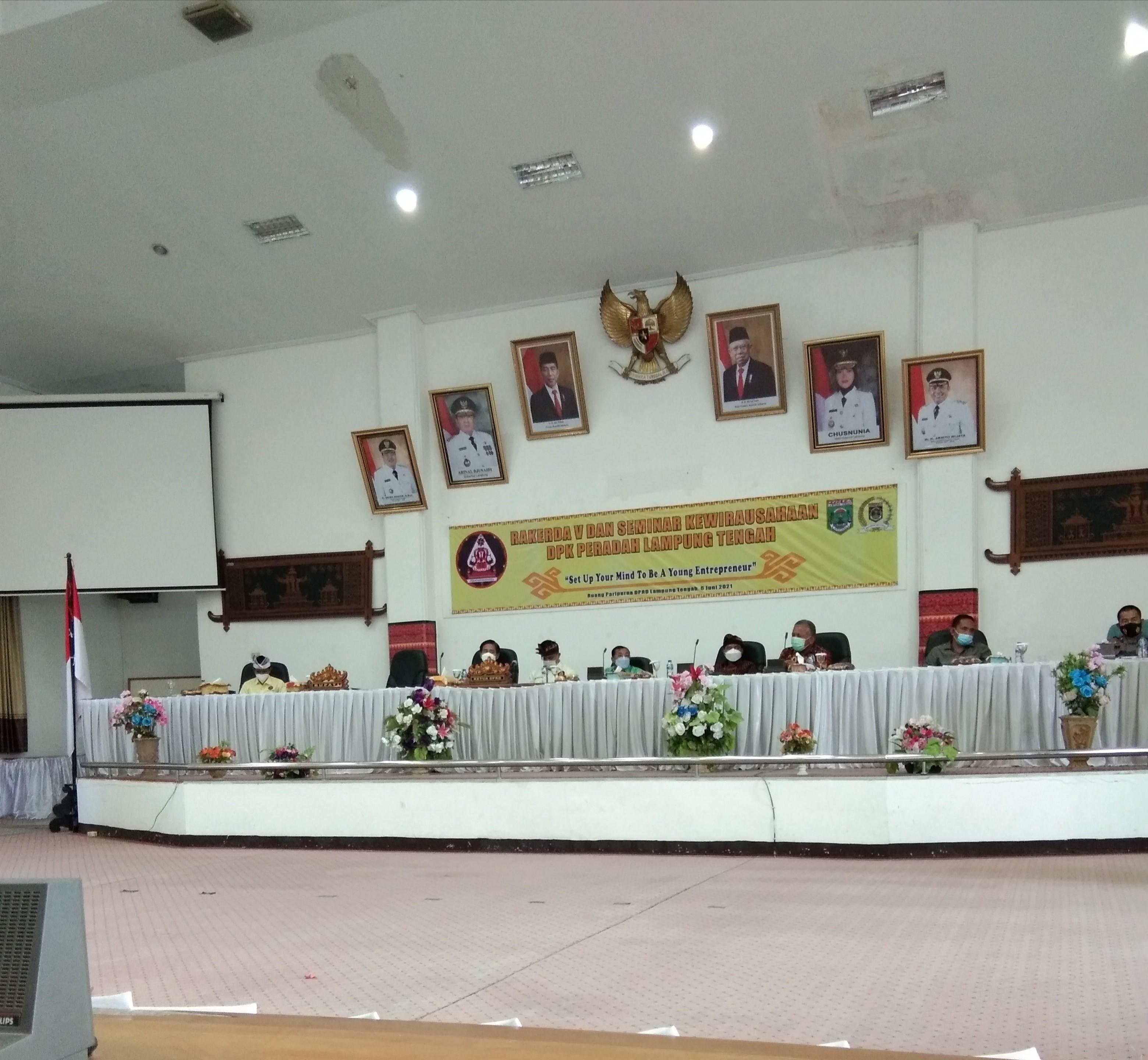 Peradah Lampung Tengah Gelar Rakerda V dan Seminar Kewirausahaan
