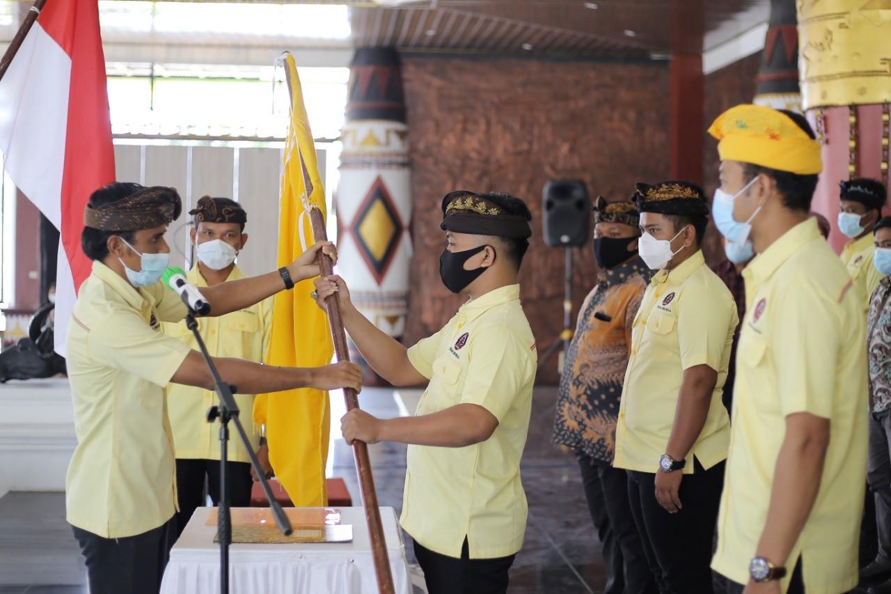 Pengurus DPK Peradah Lamteng Resmi Dilantik, Gede Hendra Siap Jalankan Roda Organisasi