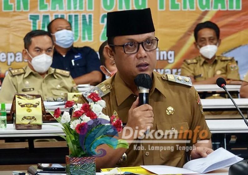 Wakili Bupati, Wabup Ardito Buka Acara Rembuk Serunting Lampung Tengah