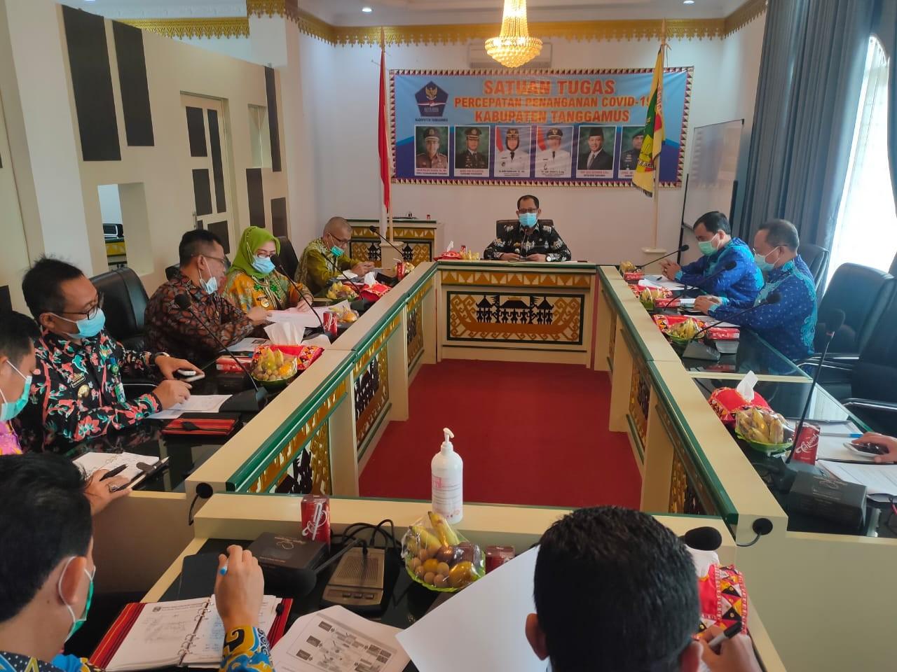 Wabup Tanggamus Terima Kunjungan BPKP Lampung